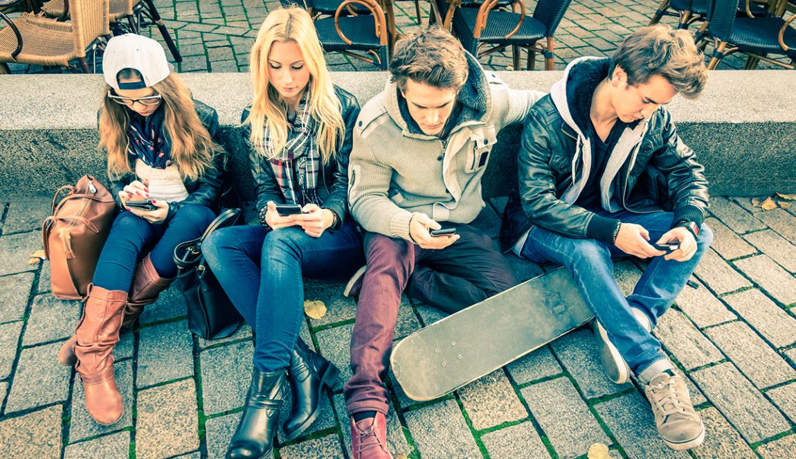 Nomofobia: adictos al móvil