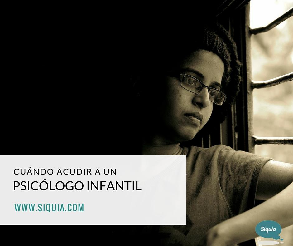 Cómo ayuda un psicólogo infantil